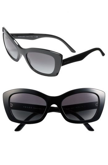 08841a63234 Prada Rectangular Cat s Eye Sunglasses -- LOVE!!
