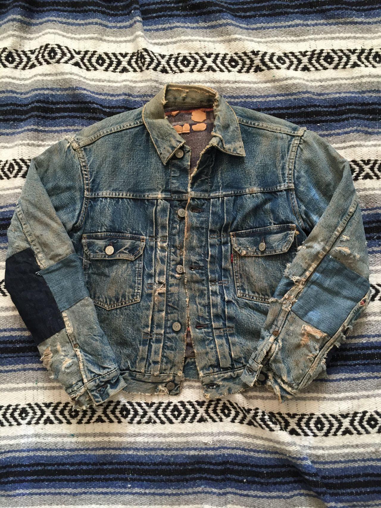 Crawford Denim And Vintage Co Vintage Denim Denim Jacket Vintage Denim Jacket