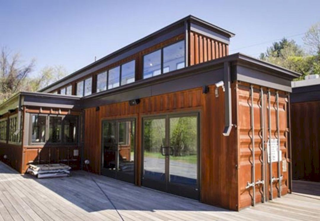 Modern window house design  top  modern and gorgeous container houses design ideas  container