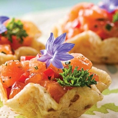 Tartare de saumon en une bouchée - Recettes - Cuisine et nutrition - Pratico Pratique
