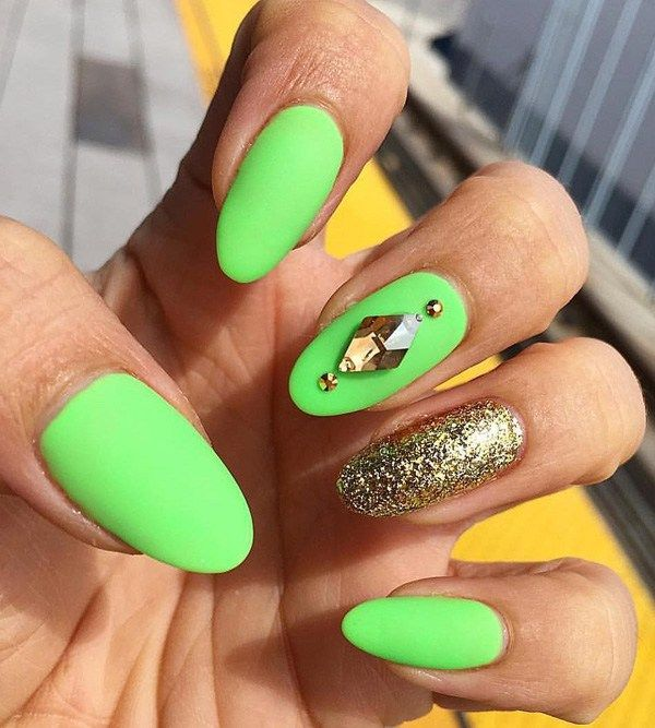 Oval Nail Art #Ideas, how to get oval #nails, #short oval nails ...