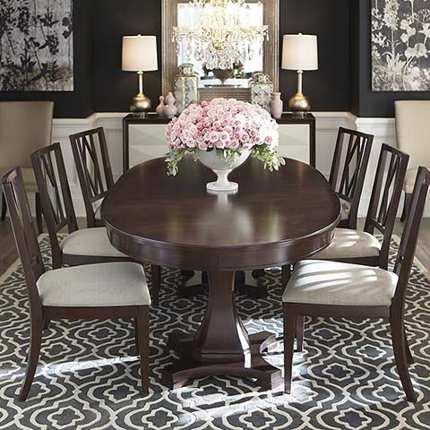 Oval Dining Table Low Back Upholstered Dining Chairs Steve Howard Designs Dining Chairs Low Back Dining Chairs Traditional Dining Tables