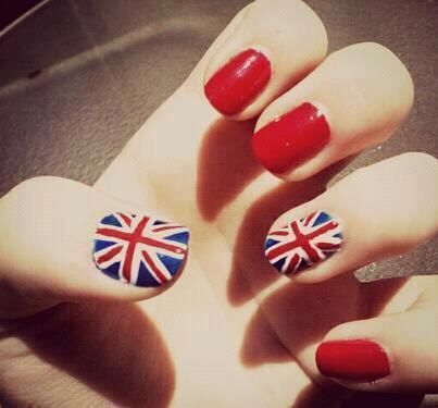 Great British Nail Art Patriotic N A I L S Pinterest