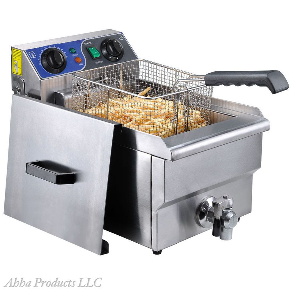 Commercial Restaurant Stainless 10l Table Top Fry Basket Deep