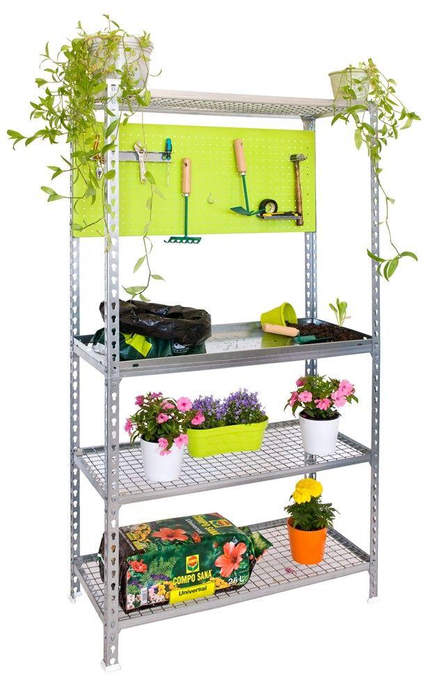 Etagère pour plantes, étagère extérieure, étagère balcon| jardin ...