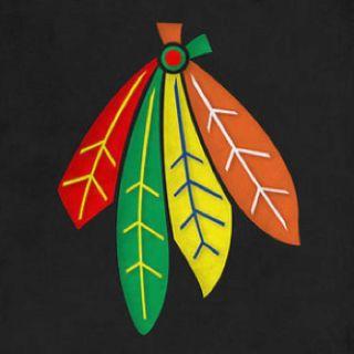 chicago blackhawks feathers are earned justsayin puck rh pinterest com chicago blackhawks logo iphone wallpaper