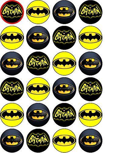 Batman Edible Birthday Cake Topper