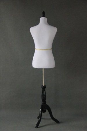 """Amazon.com: New White Female Dress Form Size 2-4 Small 34"""" 29"""" 24"""": Arts, Crafts & Sewing"""