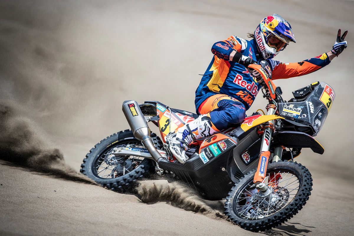 Interview of the Month Toby Price 2019 Dakar Rally