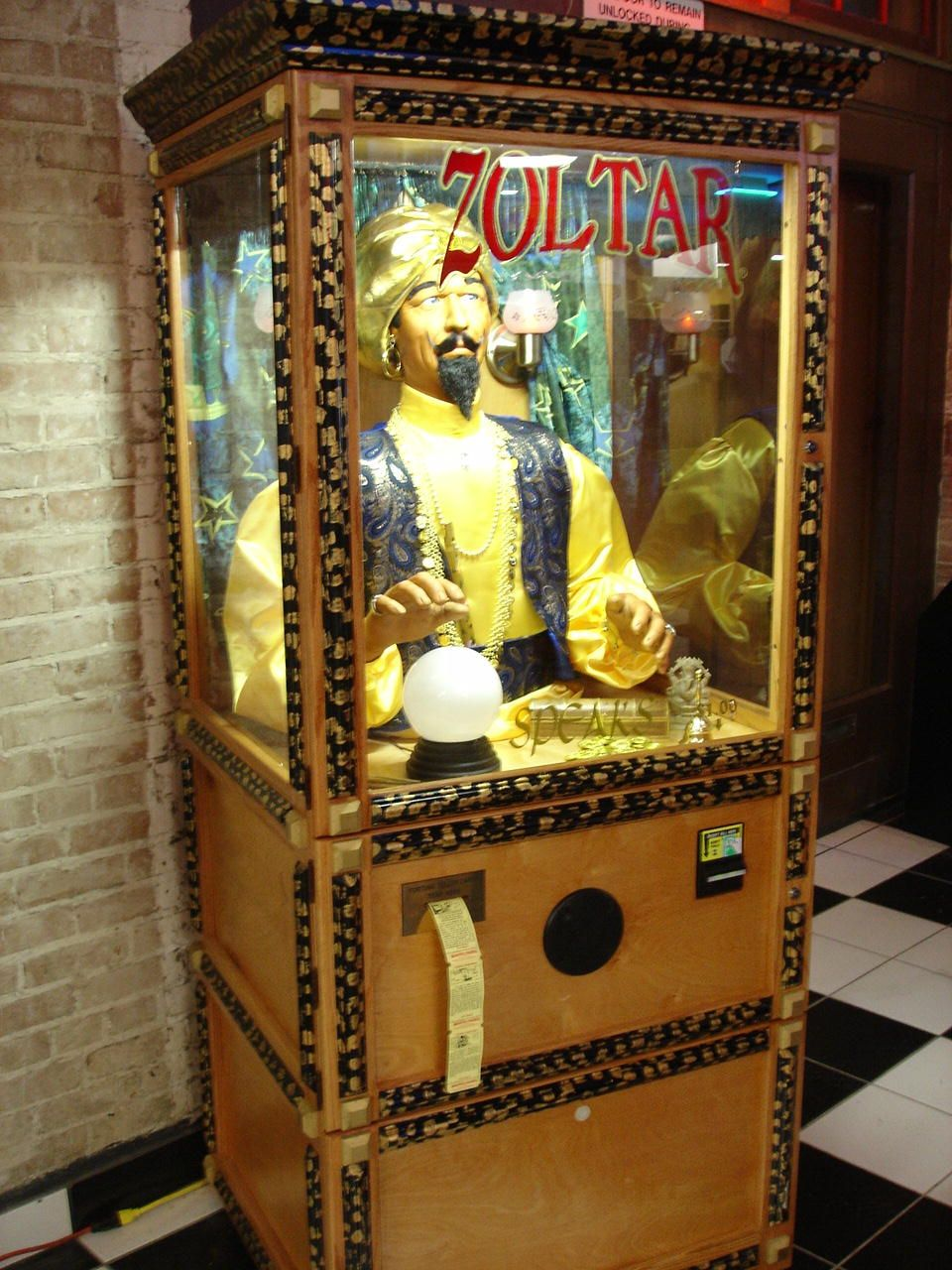 Rent this from Joystix Games for a big birthday party - Zoltar was ...