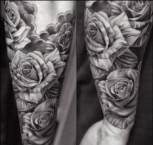 Tatuajes De Rosas Significado Y 70 Ideas Tatuajes De Rosas Para Hombres Tatuajes De Rosas Tatuajes Para Hombres En El Antebrazo