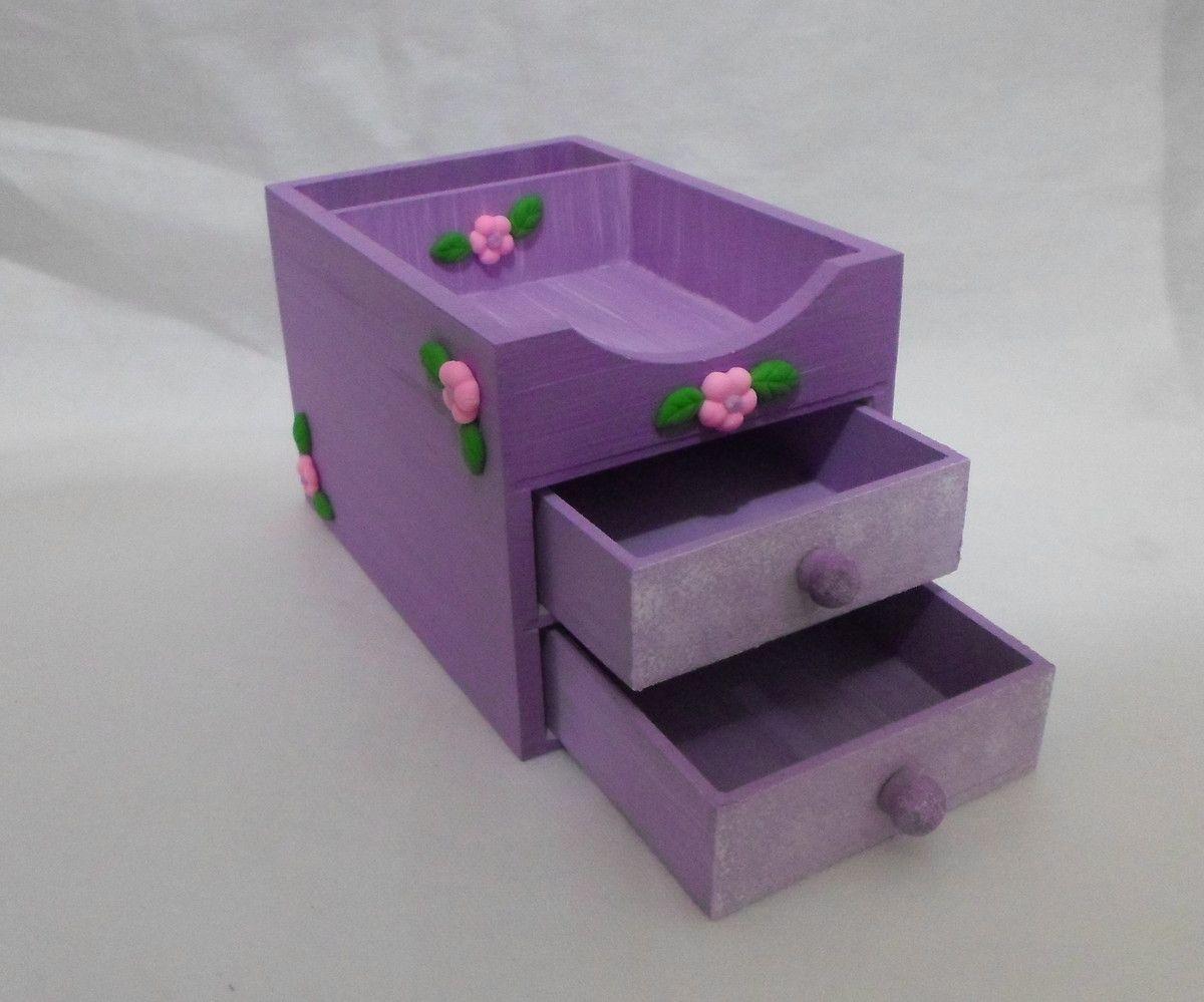 Porta lápis, canetas e utensilios de escritório em madeira MDF, pode ser utilizada para o lar, escritório ou na decoração de ambientes