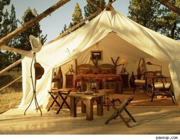 Glam Camping Anyone Paperblog Glamour Camping Tent Glamping Go Glamping