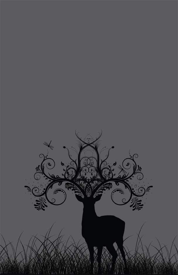 Deer Antlers On Canvas Tattoo Inspiration Pinterest Tattoos