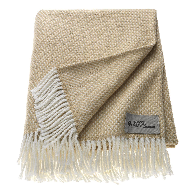 Plaid Zen Tagesdecke Textilien Schoner Wohnen