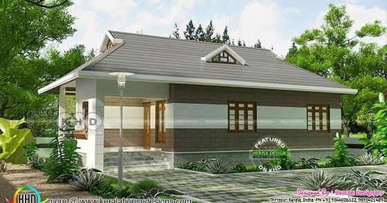 square feet bedroom low cost house plan in kerala by beacon designers  engineers thrissur also projects to try plans rh pinterest