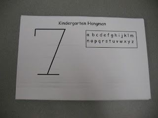 Mrs. Morrow\'s Kindergarten hangman with sight words | Ed/Sight Words ...