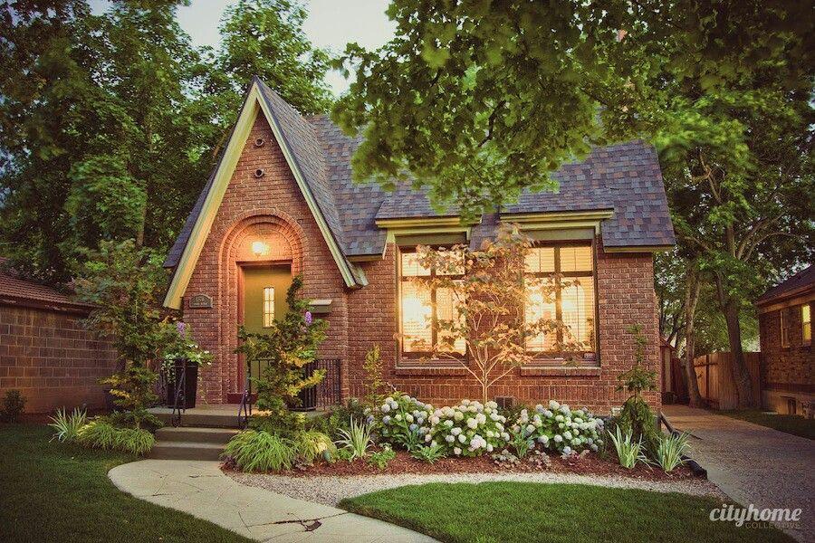 Brick cottage home, Salt Lake City Brick cottage