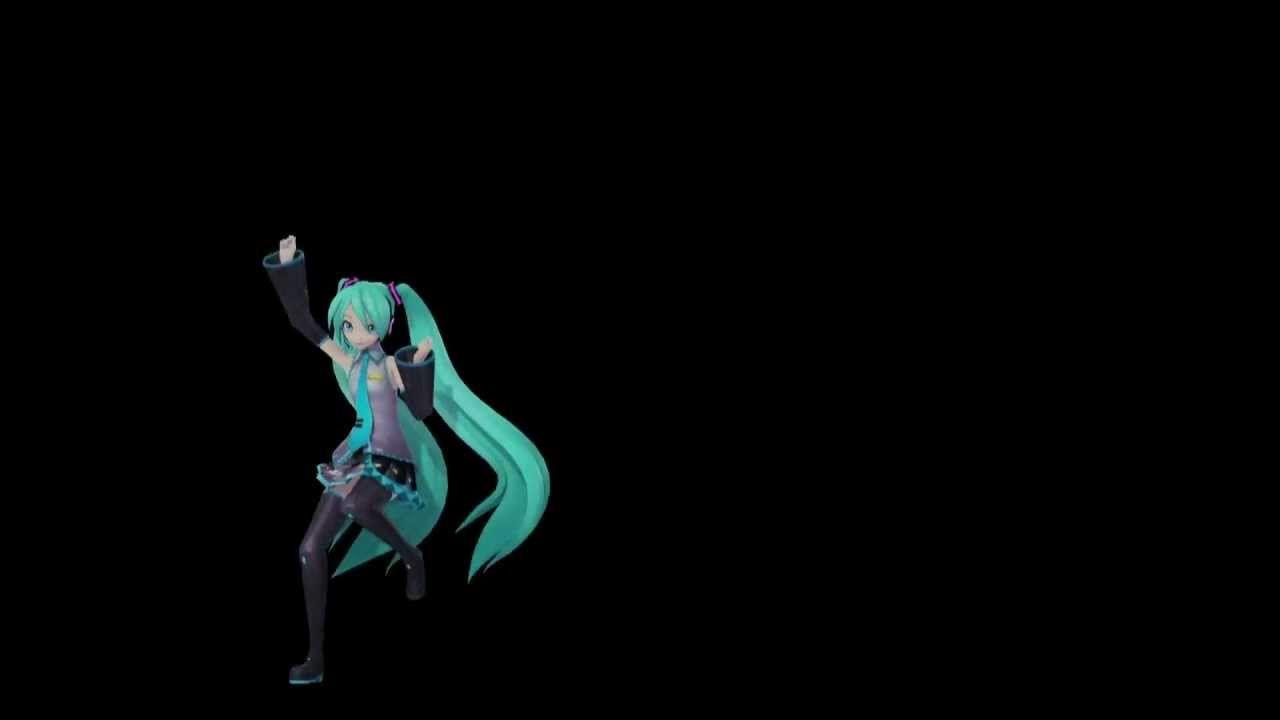 Hatsune Miku Kocchi Muite Baby Hologram Hd Hatsune Miku Miku Hologram Hd