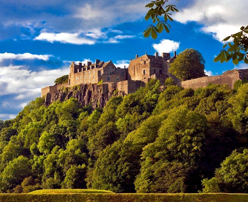 The famous Stirling Castle in Scotland | 10 Reasons Why Scotland Must Be On Your Bucket List