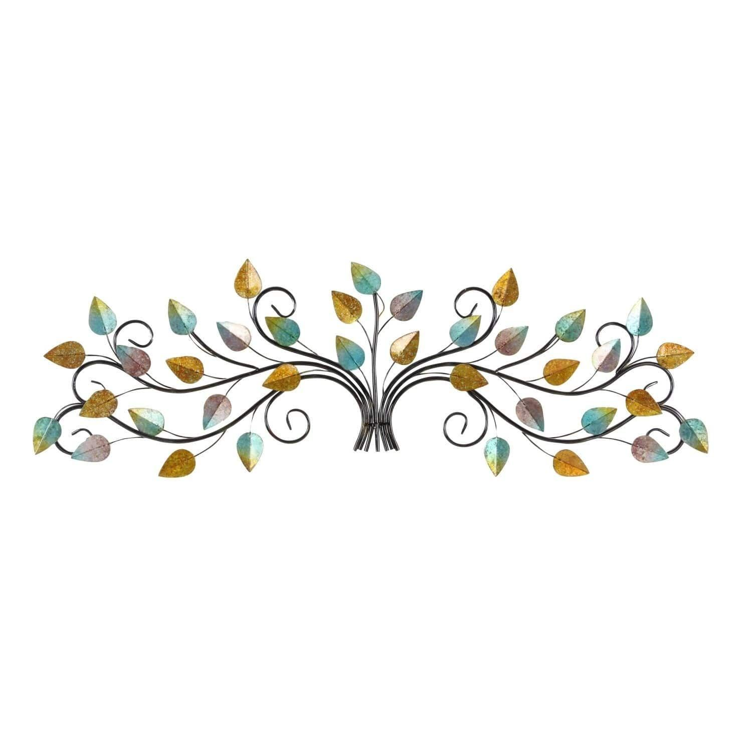Studio metal leaf wall decor inches wide inches high