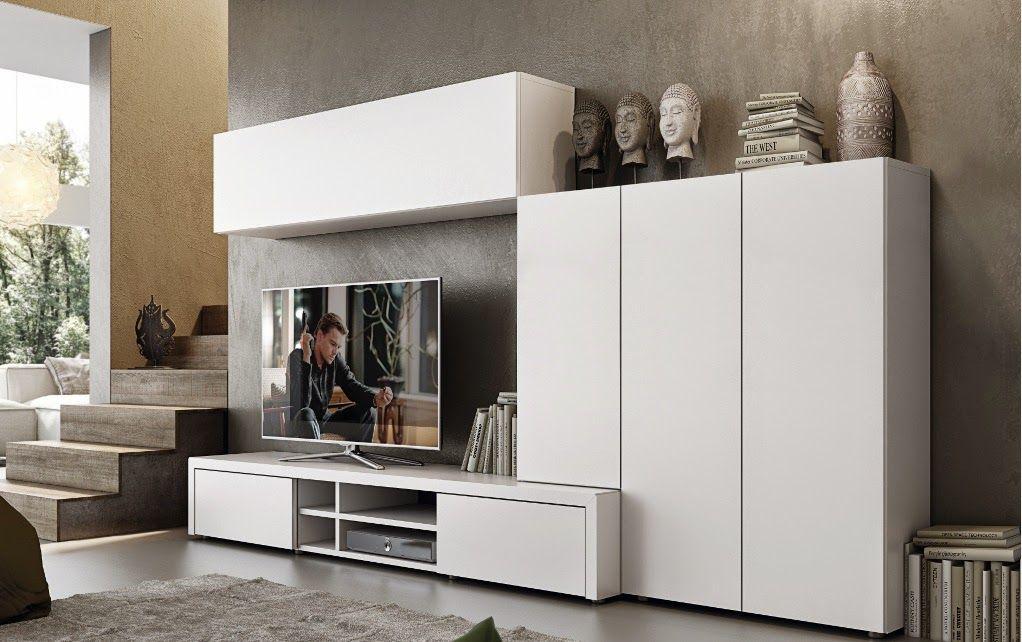 mueble-salon-lacado-blanco.jpg (1022×642)   decoracion   Pinterest ...
