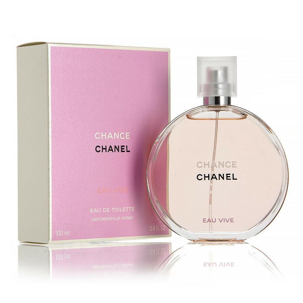 Details About Chanel Chance Eau Vive Edt Eau De Toilette Spray 100ml 3 4fl Oz Perfume Spring Fragrances Perfume Reviews