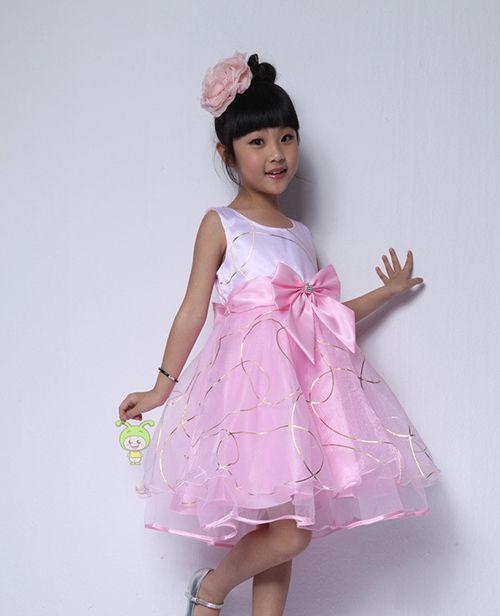 lindo vestido de fiesta para niña | LITTLE DRESSES | Pinterest ...