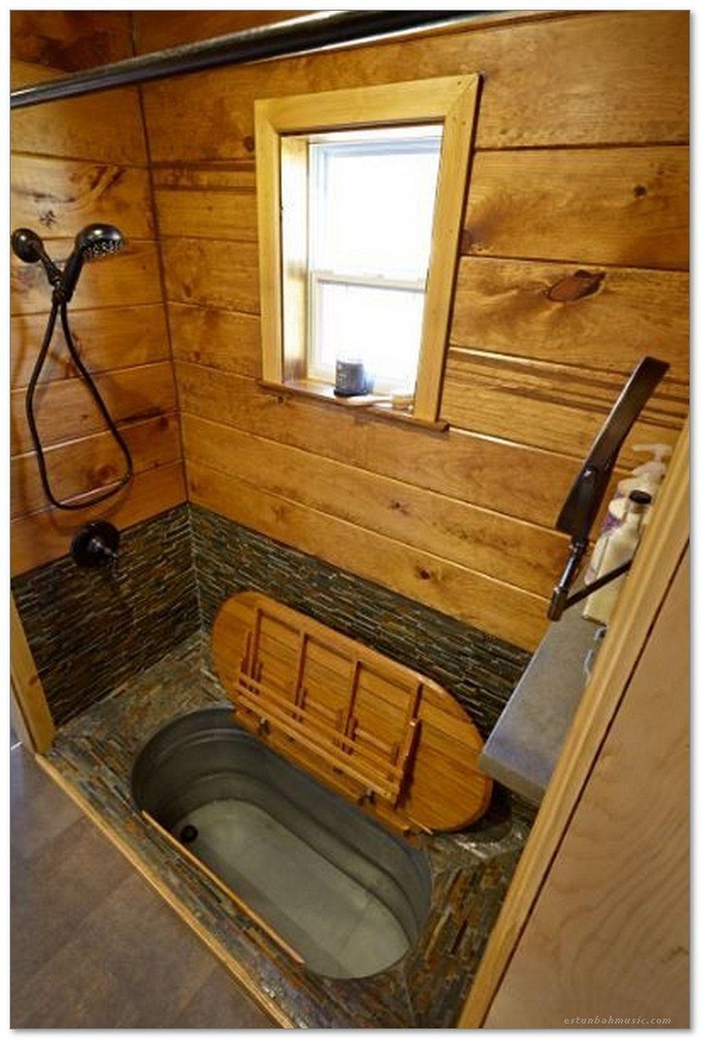 20 tiny house bathtub small space ideas | rustic farmhouse ideas