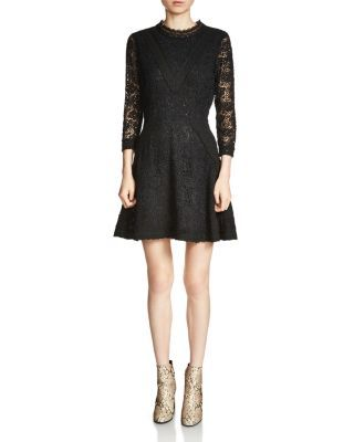 Maje Renita Lace Dress   Bloomingdale's