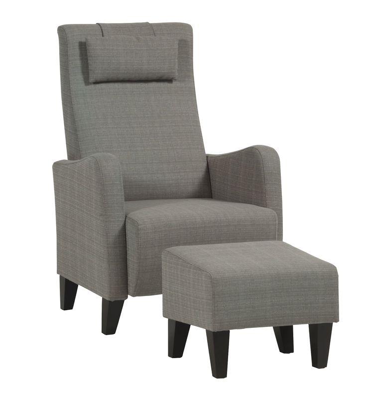 Hvilestol, recliner og suppleringsstolRolf hvilestolStoff Michelin krem