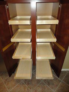 Slide Out Cabinet Shelves