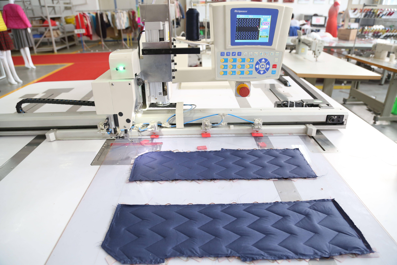 Richpeace automatic sewing machine make down jacket pattern ... : automatic quilting machine - Adamdwight.com