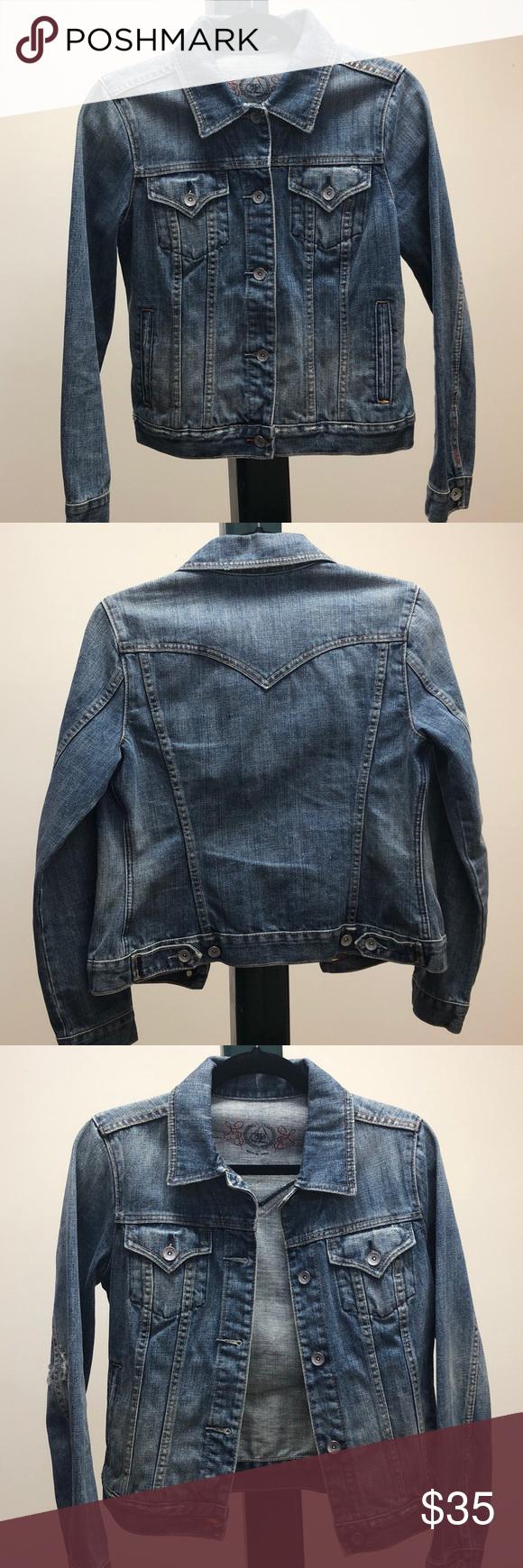 Gap 1969 Jean Jacket Clothes Design Jackets Jean Jacket [ 1740 x 580 Pixel ]