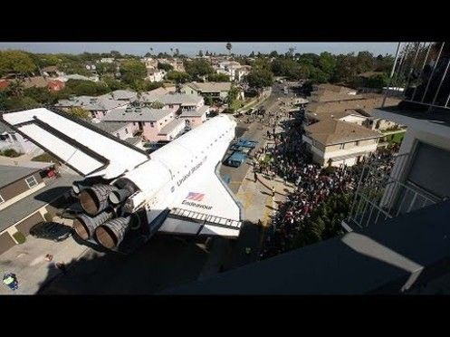 Danny Sullivan - Google+ -  Time lapse video of Endeavour being moved throug LA