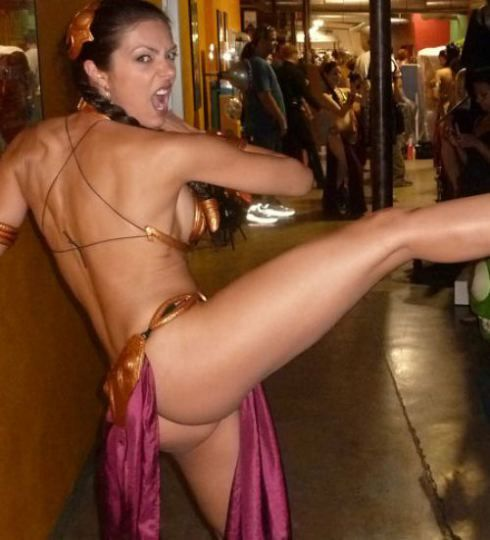Pin On Slave Leia Cosplay-3717
