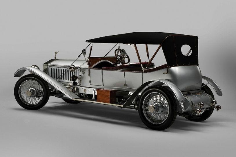 rolls royce silver ghost london edinburgh tourer autos. Black Bedroom Furniture Sets. Home Design Ideas