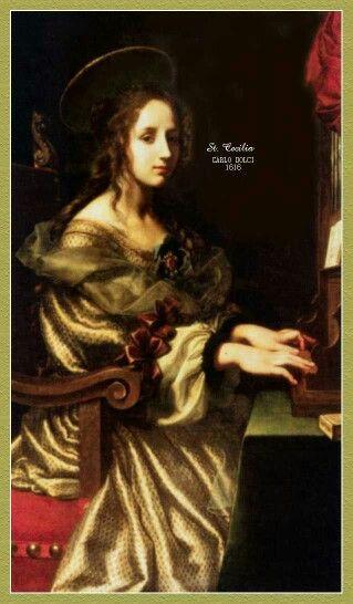 My girl, St. Cecilia