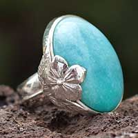 jewellery silver listing turquoise rings ckis amazonite oval il ring jewelry