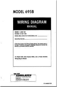 aero commander 695 b aircraft wiring diagram manual aircraft rh pinterest com  read aircraft wiring diagram manual