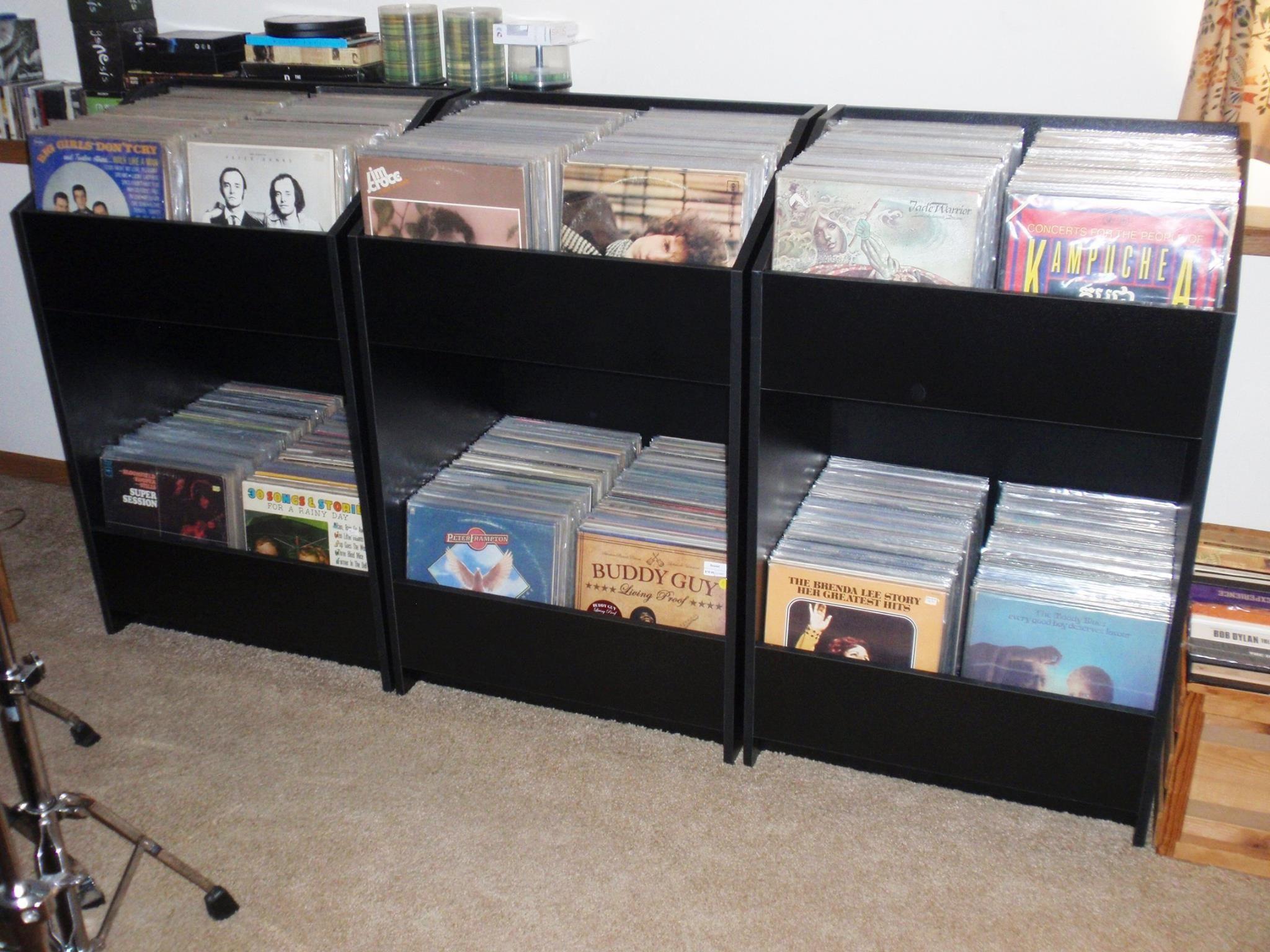 Lpbin Storage Cabinets Vinyl Record Diy Album