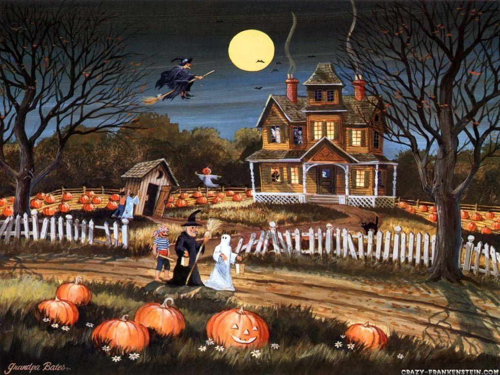 Free Halloween wallpaper | 1024x768 | #47130 | Wallpaper | Pinterest