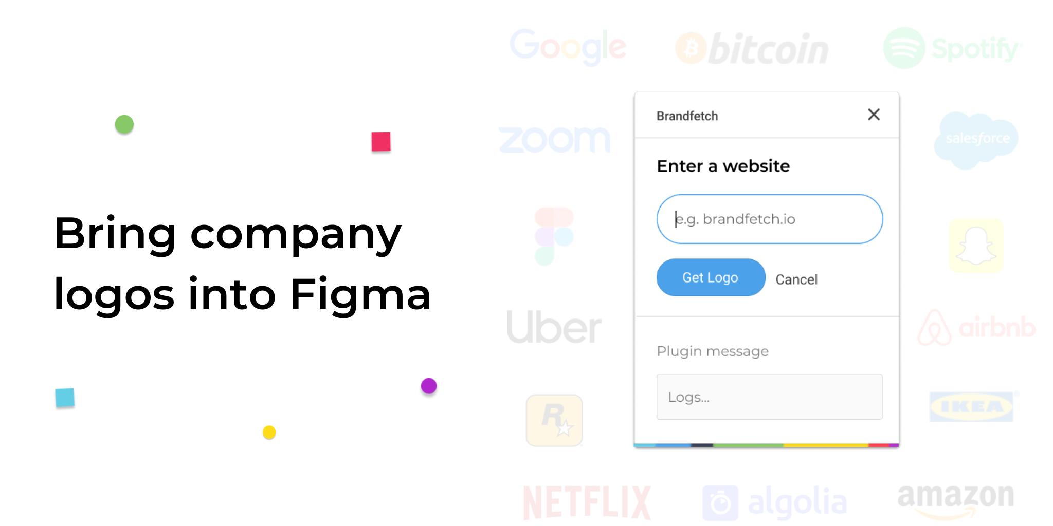 Brandfetch Figma Figma, Plugins, Company logo