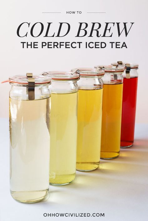 Easy Cold Brew Tea