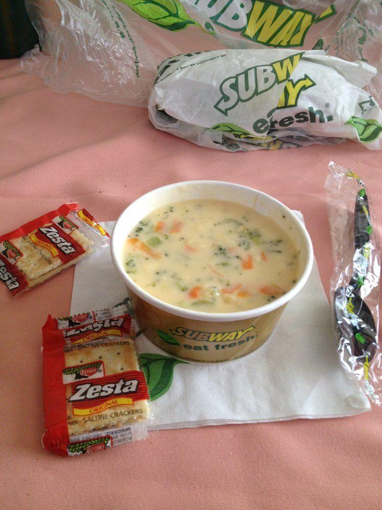 recipe: broccoli cheddar soup calories subway [3]