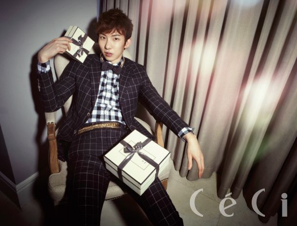 [OFFICIAL] 2PM's WOOYOUNG & 2AM's JOKWON – CeCi, BestFriend Stars' Private Party, Decemeber 2012 ⓒCeCi Korea http://ceci.joinsmsn.com