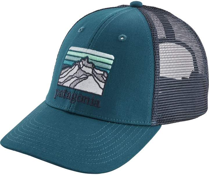 d1c82411 Patagonia Line Logo Ridge LoPro Trucker Hat in 2019   Products ...