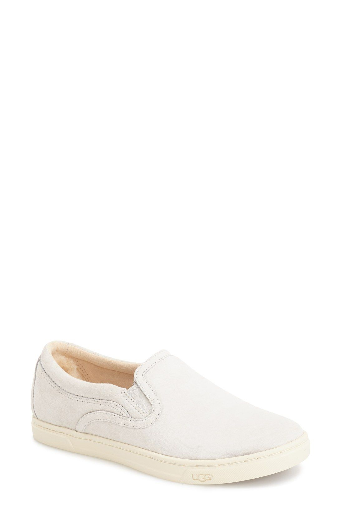 UGG® Australia 'Fierce' Water Resistant Suede Slip-On Sneaker (Nordstrom Exclusive