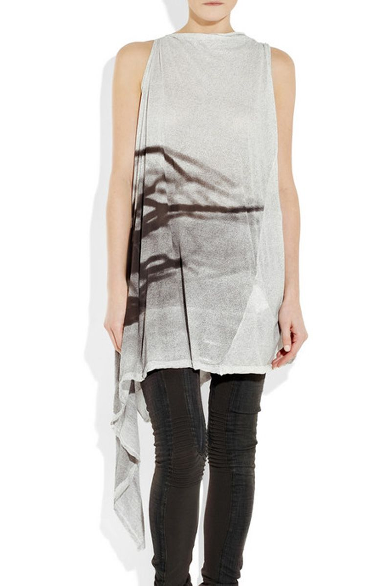 Asymmetrical top Rick Owens Cheap Wiki Discount Purchase Looking For Sale Online Online Shopping sGkYRElWJ