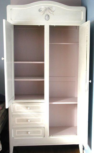 armoire romantique | meubles peints | pinterest | deco romantique